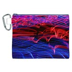 Lights Abstract Curves Long Exposure Canvas Cosmetic Bag (XXL) Front