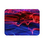 Lights Abstract Curves Long Exposure Double Sided Flano Blanket (Mini)  35 x27 Blanket Front