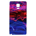 Lights Abstract Curves Long Exposure Galaxy Note 4 Back Case Front