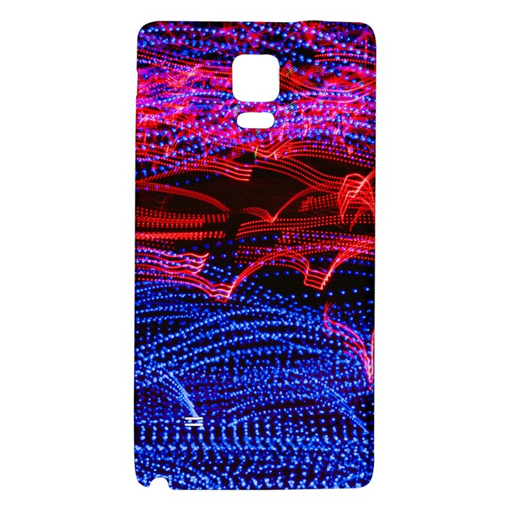 Lights Abstract Curves Long Exposure Galaxy Note 4 Back Case