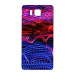Lights Abstract Curves Long Exposure Samsung Galaxy Alpha Hardshell Back Case Front