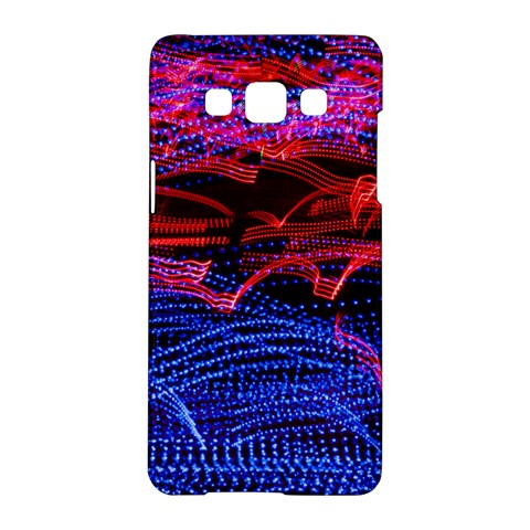 Lights Abstract Curves Long Exposure Samsung Galaxy A5 Hardshell Case