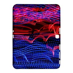 Lights Abstract Curves Long Exposure Samsung Galaxy Tab 4 (10.1 ) Hardshell Case
