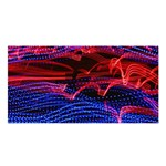 Lights Abstract Curves Long Exposure Satin Shawl Front