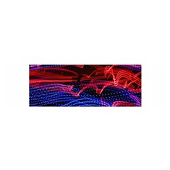 Lights Abstract Curves Long Exposure Satin Scarf (Oblong)