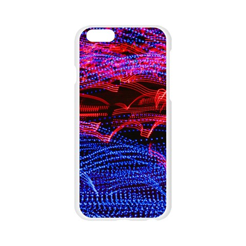 Lights Abstract Curves Long Exposure Apple Seamless iPhone 6/6S Case (Transparent)