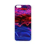 Lights Abstract Curves Long Exposure Apple Seamless iPhone 6/6S Case (Transparent) Front