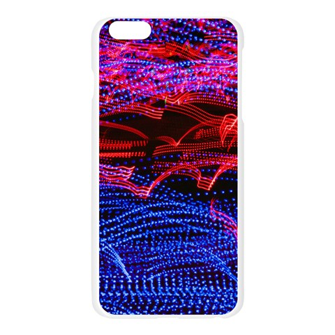 Lights Abstract Curves Long Exposure Apple Seamless iPhone 6 Plus/6S Plus Case (Transparent)