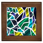 Mosaic Shapes Framed Tiles Front