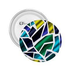 Mosaic Shapes 2.25  Buttons