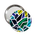 Mosaic Shapes 2.25  Handbag Mirrors Front