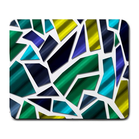 Mosaic Shapes Large Mousepads
