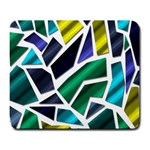 Mosaic Shapes Large Mousepads Front