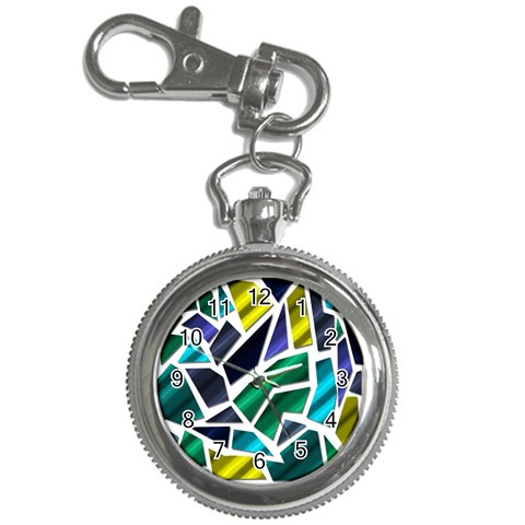 Mosaic Shapes Key Chain Watches