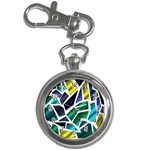 Mosaic Shapes Key Chain Watches Front