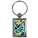 Mosaic Shapes Key Chains (Rectangle)  Front