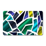 Mosaic Shapes Magnet (Rectangular) Front