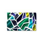 Mosaic Shapes Magnet (Name Card) Front