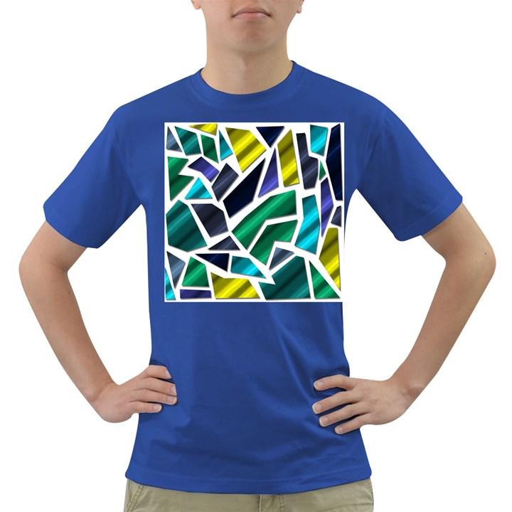 Mosaic Shapes Dark T-Shirt