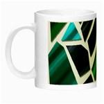 Mosaic Shapes Night Luminous Mugs Left