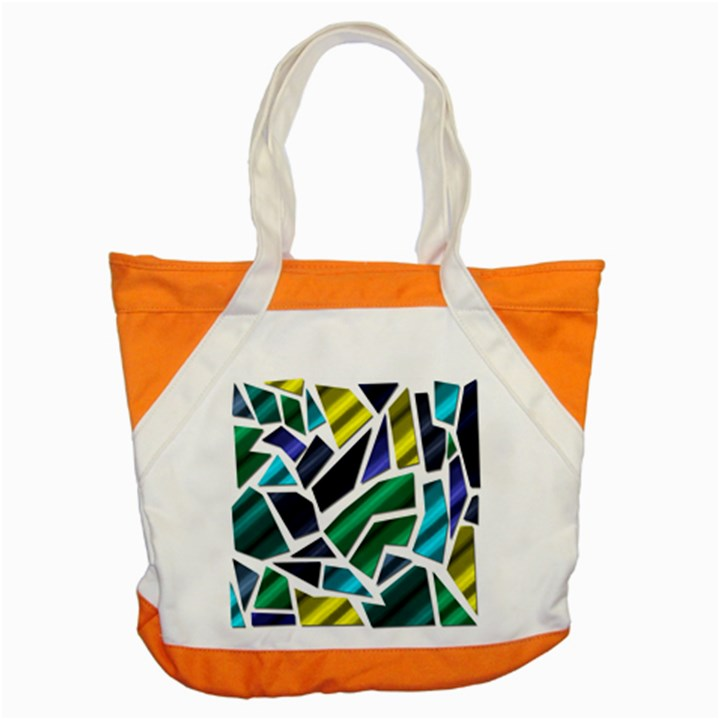 Mosaic Shapes Accent Tote Bag