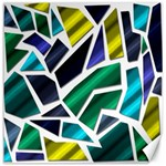 Mosaic Shapes Canvas 20  x 20   20 x20 Canvas - 1