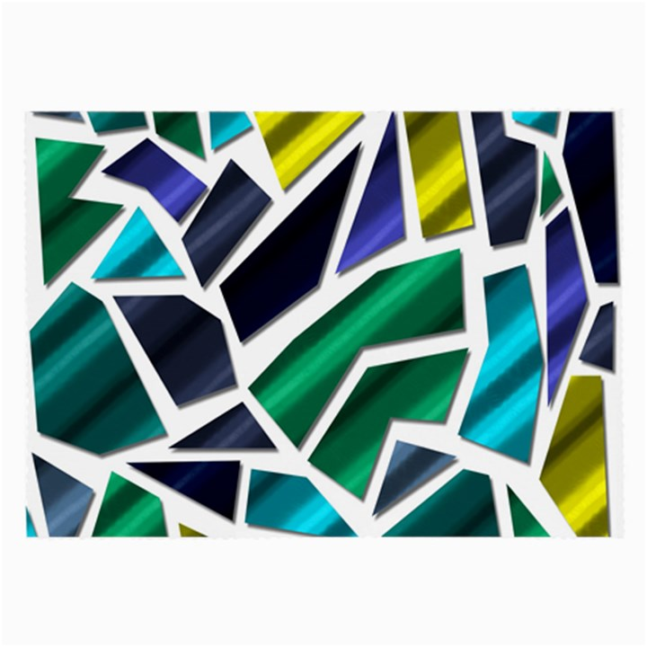 Mosaic Shapes Large Glasses Cloth (2-Side)