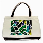 Mosaic Shapes Basic Tote Bag (Two Sides) Front