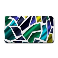 Mosaic Shapes Medium Bar Mats