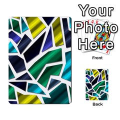 Mosaic Shapes Multi-purpose Cards (Rectangle)