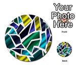 Mosaic Shapes Multi-purpose Cards (Round)  Front 4