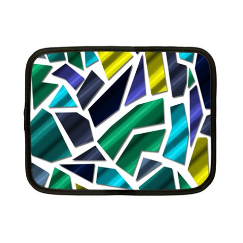 Mosaic Shapes Netbook Case (Small)