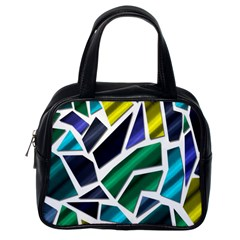Mosaic Shapes Classic Handbags (One Side)