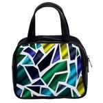 Mosaic Shapes Classic Handbags (2 Sides) Front