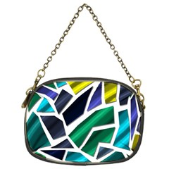 Mosaic Shapes Chain Purses (Two Sides)