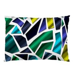 Mosaic Shapes Pillow Case