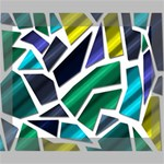 Mosaic Shapes Canvas 10  x 8  10  x 8  x 0.875  Stretched Canvas