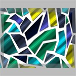 Mosaic Shapes Canvas 16  x 12  16  x 12  x 0.875  Stretched Canvas