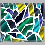 Mosaic Shapes Canvas 24  x 20  24  x 20  x 0.875  Stretched Canvas