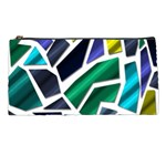 Mosaic Shapes Pencil Cases Front
