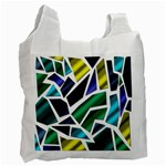 Mosaic Shapes Recycle Bag (One Side) Front