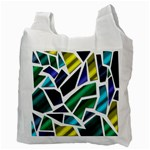 Mosaic Shapes Recycle Bag (Two Side)  Back