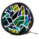 Mosaic Shapes Mini Makeup Bags Front