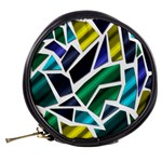 Mosaic Shapes Mini Makeup Bags Back