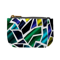 Mosaic Shapes Mini Coin Purses