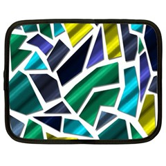 Mosaic Shapes Netbook Case (XL)
