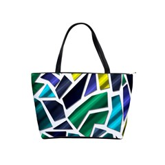 Mosaic Shapes Shoulder Handbags