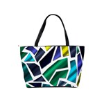 Mosaic Shapes Shoulder Handbags Back