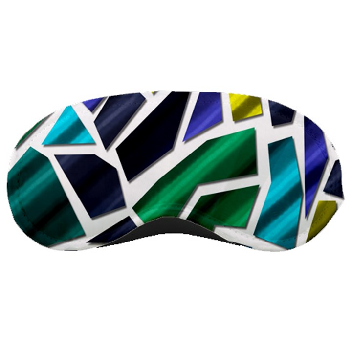 Mosaic Shapes Sleeping Masks
