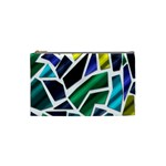 Mosaic Shapes Cosmetic Bag (Small)  Front
